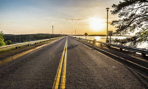 Photograph - Sunset Road 2  by Andrea Anderegg