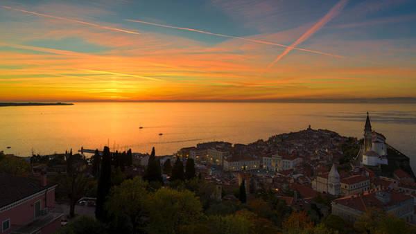 Photograph - Sunset by Robert Krajnc