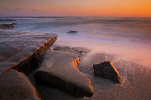 Photograph - Sunset Rocks by Andy Bitterer