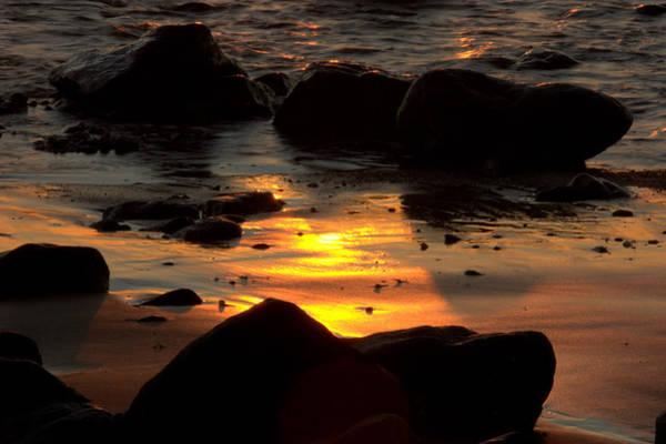 Photograph - Sunset Rocks by Brad Scott