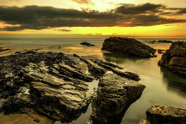 Photograph - Sunset Rocks by Nick Bywater