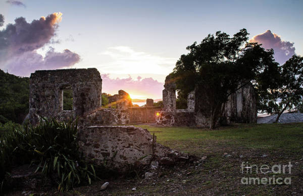 Photograph - Sunset Ruins by Julia Rigler