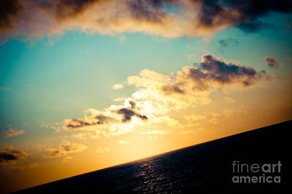 Photograph - Sunset Rythm Under Sea Jurkalne by Raimond Klavins