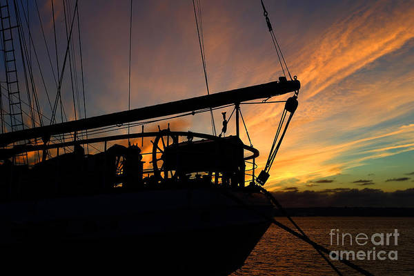Wall Art - Photograph - Sunset Sail by Rick Mann