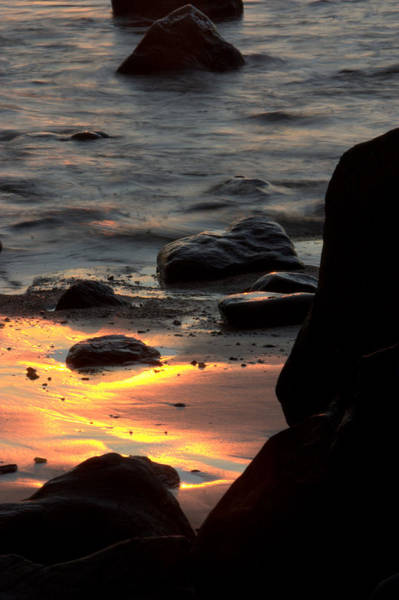 Photograph - Sunset Sand by Brad Scott