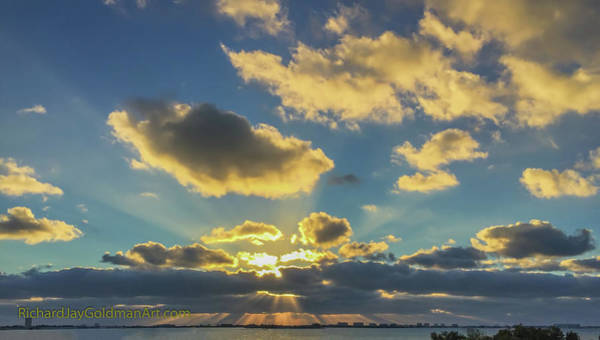 Photograph - Sunset Sarasota Bay by Richard Goldman