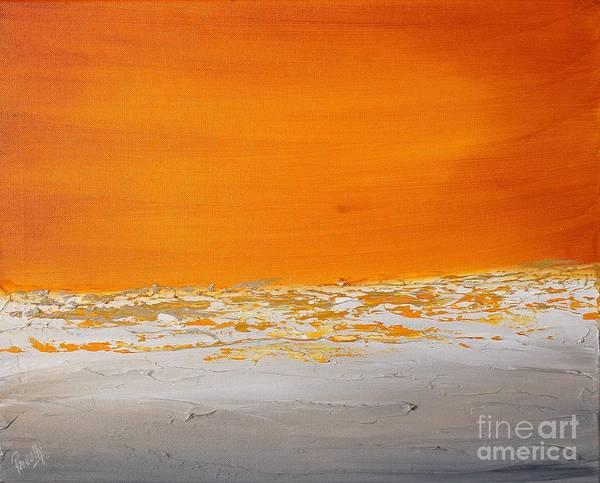 Painting - Sunset Shore 2 by Preethi Mathialagan