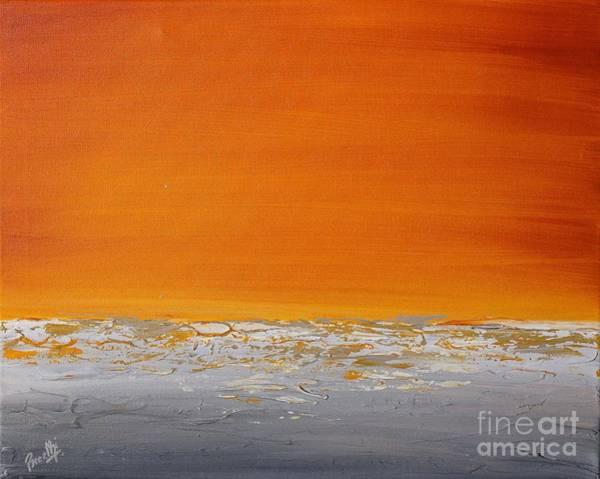 Painting - Sunset Shore 3 by Preethi Mathialagan