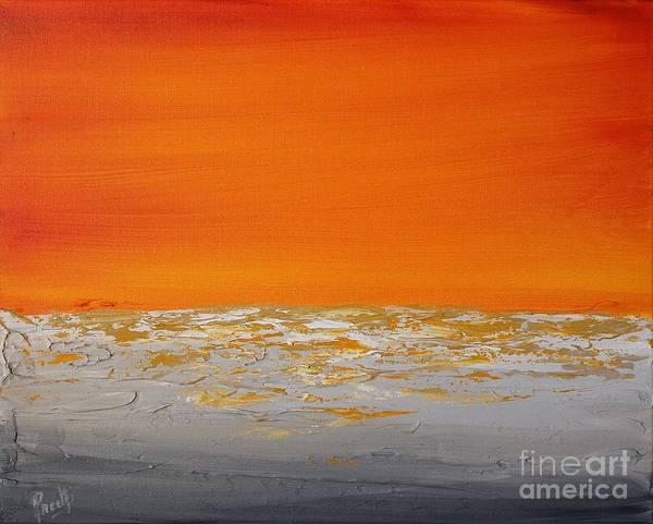 Painting - Sunset Shore 4 by Preethi Mathialagan