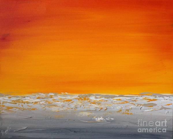 Painting - Sunset Shore 5 by Preethi Mathialagan