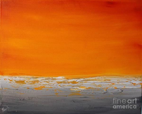 Painting - Sunset Shore 6 by Preethi Mathialagan