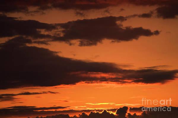 Photograph - Sunset Sky - Big Island by Charmian Vistaunet