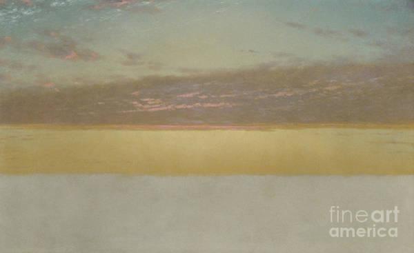 Endless Painting - Sunset Sky, 1872 by John Frederick Kensett