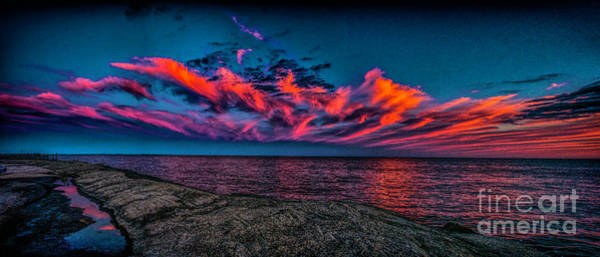 Photograph - Sunset Sky At East Point by Nick Zelinsky