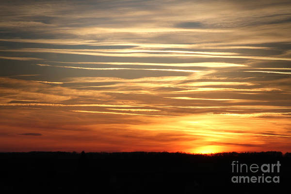 Photograph - Sunset Sky by Dimitar Hristov