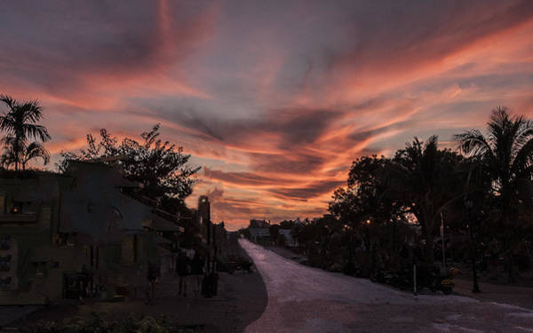 Photograph - Sunset Sky by William Bitman