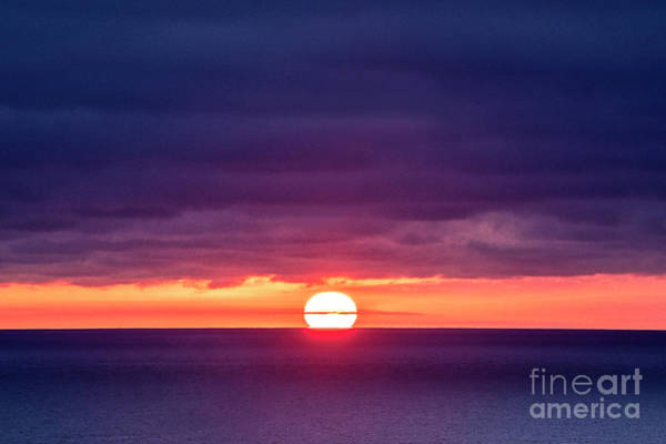 Wall Art - Photograph - Sunset Sphere, La Jolla, California by Julia Hiebaum
