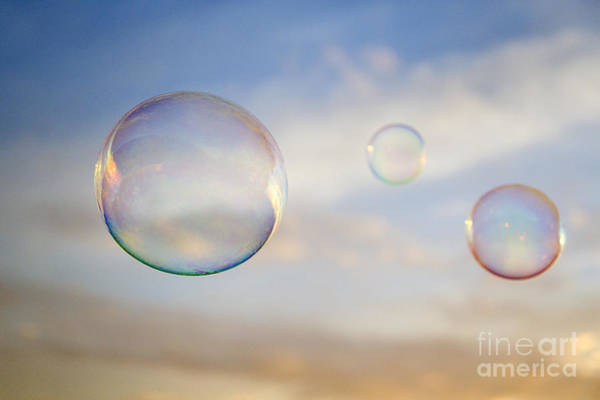 Wall Art - Photograph - Sunset Spheres by Julia Hiebaum