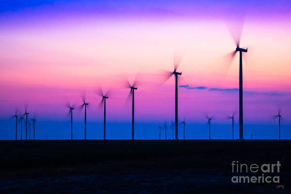 Photograph - Sunset Spinning by Imagery by Charly