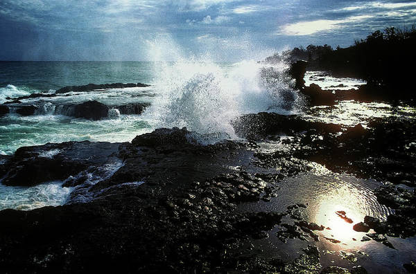 Photograph - Sunset Splash  by Harry Spitz