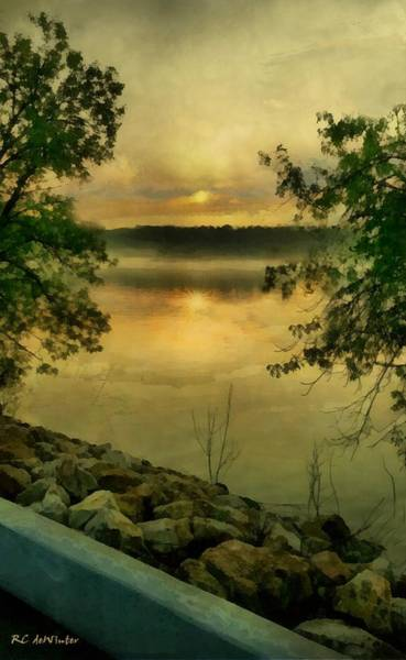 Painting - Sunset Splendor by RC DeWinter