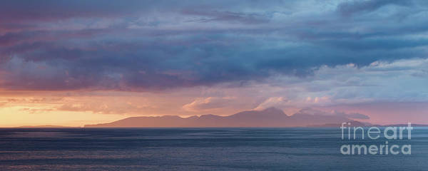Wall Art - Photograph - Sunset Squall by Janet Burdon