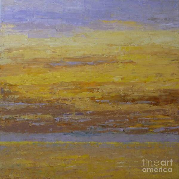 Painting - Sunset Storm Clouds by Gail Kent
