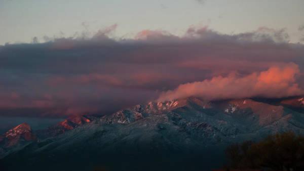 Sunset Storm On The Sangre De Cristos Art Print