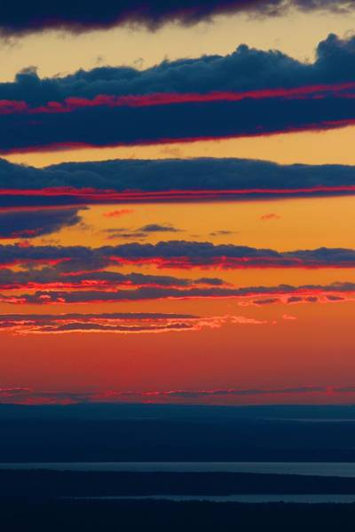 Photograph - Sunset Strata by Polly Castor