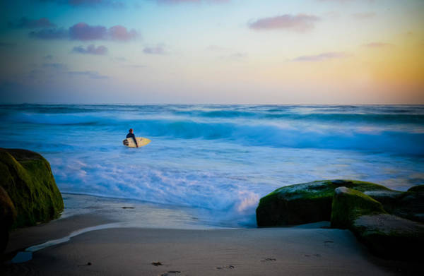 Wall Art - Photograph - Sunset Surf by Kelly Wade