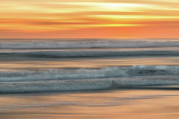 Photograph - Sunset Surf by Patti Deters