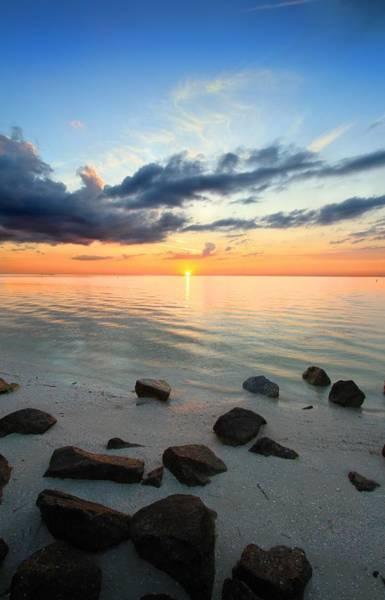 Wall Art - Photograph - Sunset Tranquil by Gary Yost