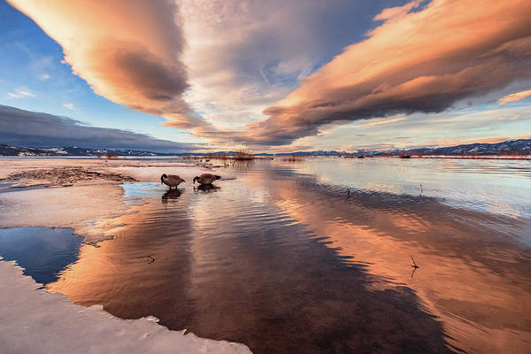 Lightroom Photograph - Sunset Treats At Lake Tahoe by Mike Herron