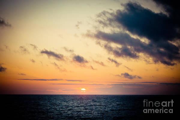 Photograph - Sunset Under Sea by Raimond Klavins