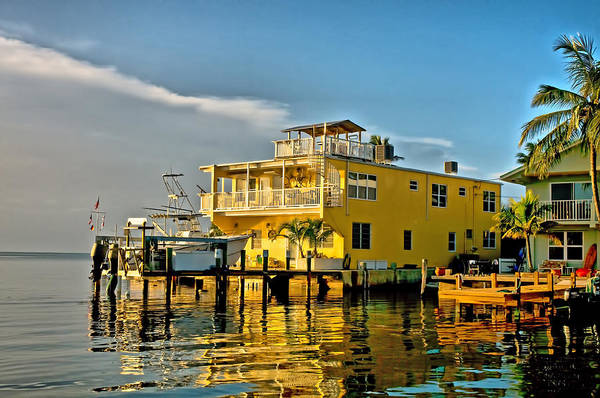 Photograph - Sunset Villas Hdr by Ginger Wakem