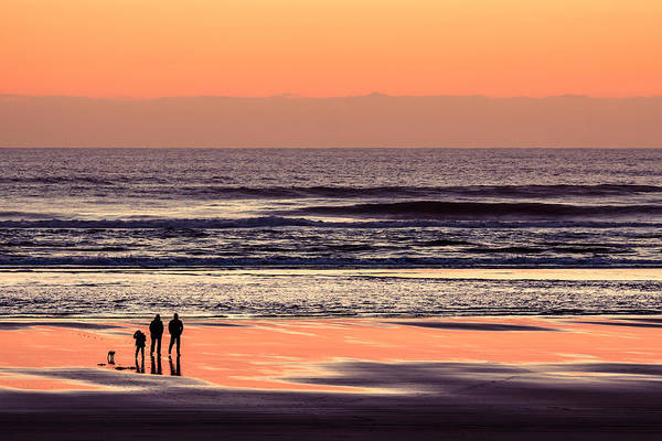 Photograph - Sunset Walk by Todd Klassy