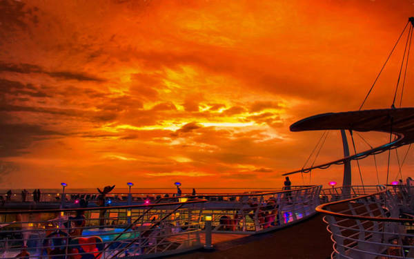 Photograph - Sunset Watch by John M Bailey