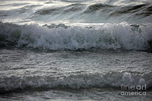Photograph - Sunset Waves by Carol Groenen