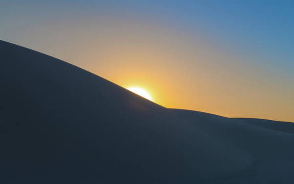 White Sand Photograph - Sunset - White Sands by Joseph Smith