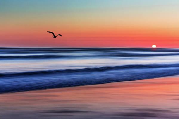 Sunset Widemouth Bay  Art Print