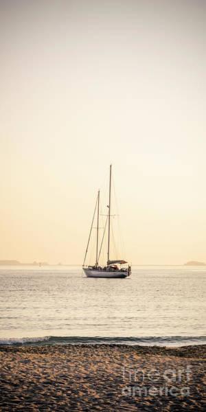 Wall Art - Photograph - Sunset Yacht by Jason Knott