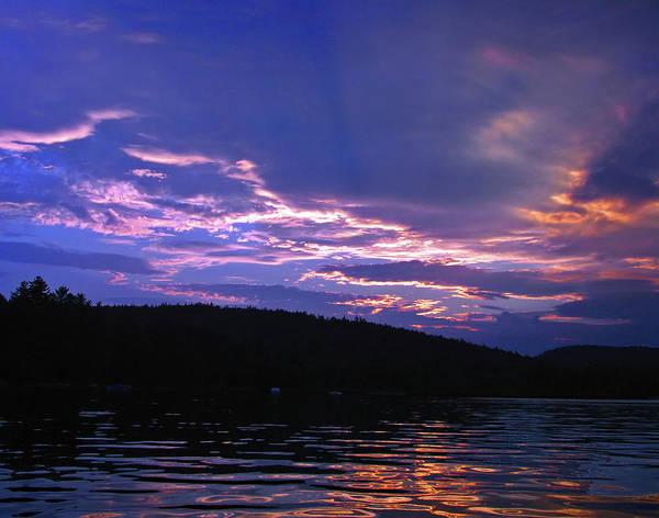 Photograph - Sunset's Holy Shroud Of Silence by Lynda Lehmann