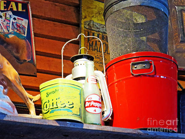 Photograph - Sunshine Coffee And Dr. Pepper by Rick Locke