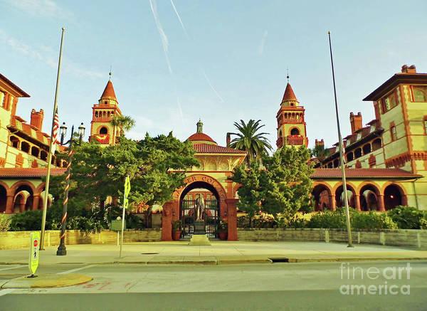 Photograph - Sunshine Flagler College by D Hackett