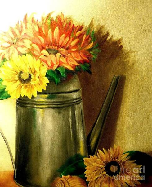 Wall Art - Painting - Sunshine In A Can by Patricia Lang