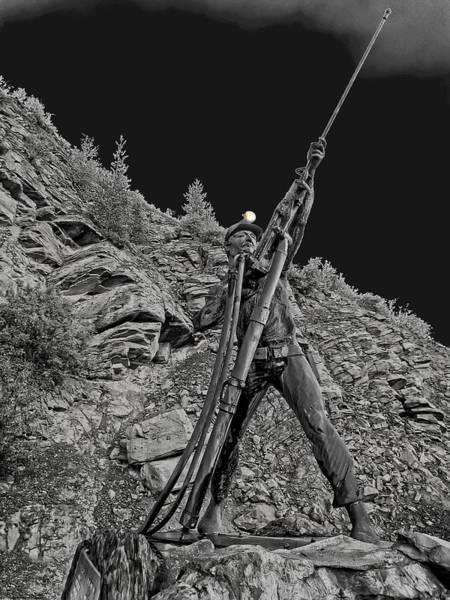 Lead Mine Wall Art - Photograph - Sunshine Mine Fire Monument - Idaho State by Daniel Hagerman