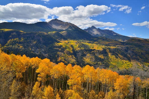 Photograph - Sunshine Mountain Fall by Ray Mathis