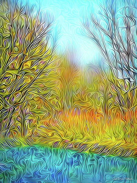 Digital Art - Sunshine Peaceful Day by Joel Bruce Wallach