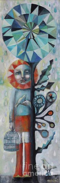 Wall Art - Painting - Sunshine Shelter by Manami Lingerfelt