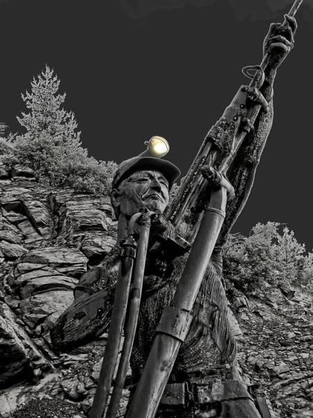 Gold Mine Photograph - Sunshine Silver Mine Memorial - Kellogg Idaho by Daniel Hagerman